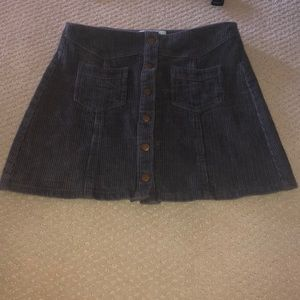 corduroy skirt!! Rarely ever worn great condition!